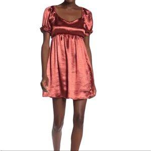 Lunachix short ruffle sleeve dress size medium